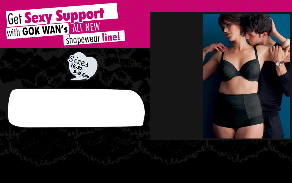 Control Me Briefs - Get sexy support with Gok Wan's all new shapewear line!
