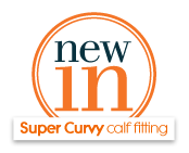 new in Super Curvy calf fitting