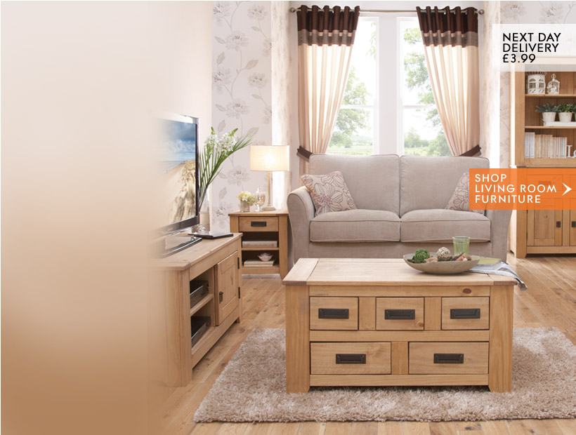Next Day Delivery £3.99. Shop Living Room Furniture