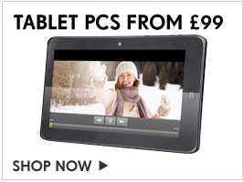 Tablet PCs from £99 – Shop Now   >