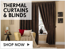 Thermal Curtains &amp; Blinds &ndash; Shop 