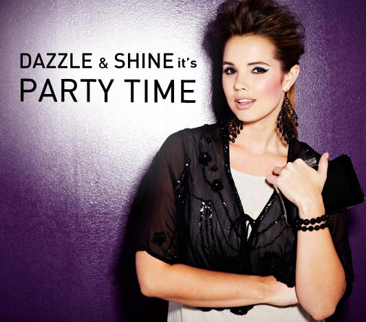 Dazzle and shine its partytime