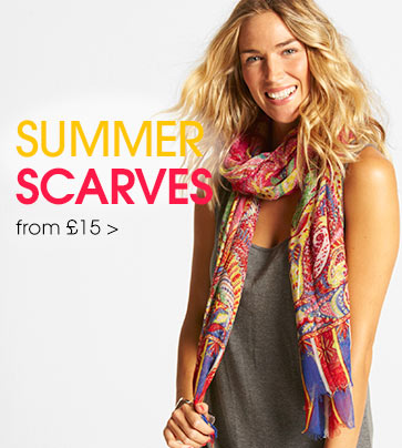 Summer scarves - from £15>