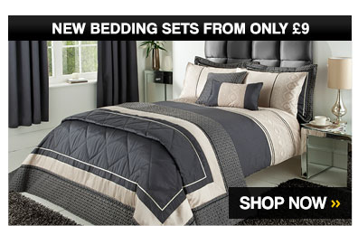 New Bedding Sets from only £9  – Shop Now >
