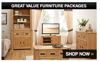 Great value furniture packages – Shop Now >