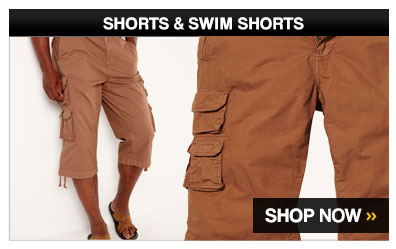 Shorts &amp; Swimshorts &ndash; Shop Now &gt;
