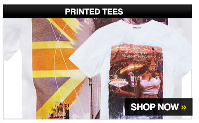 Printed Tees – Shop Now >