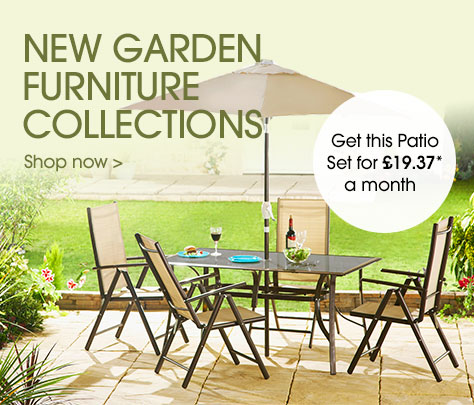 New garden furniture collections >