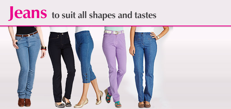 Jeans to suit all shapes and sizes