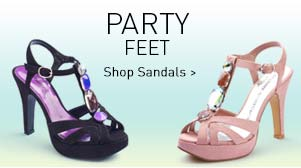 Party Feet - Glam up - Shop Sandals >