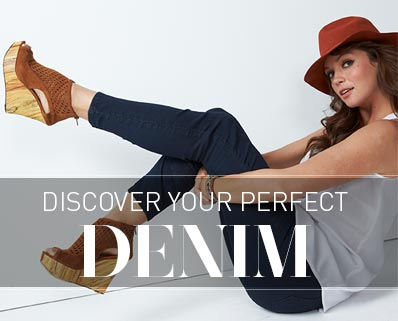 Discover Your Perfect Denim &gt;