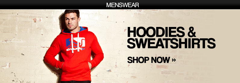 Hoodies & Sweatshirts. Shop Now >