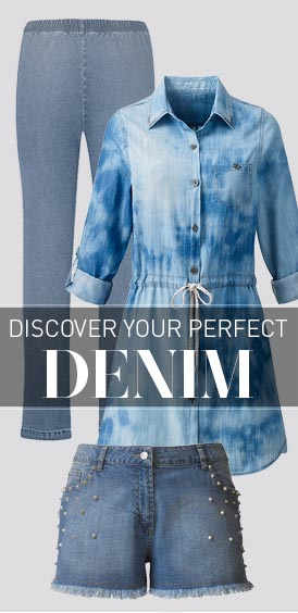 Discover Your Perfect Denim >