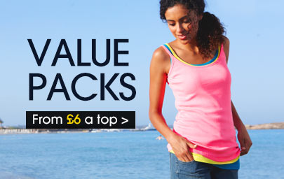 Value Packs from &pound;6 a top &gt;