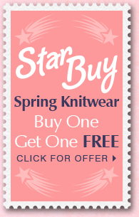 Star Buy - Spring Knitwear -  Buy One Get One Free