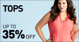Tops up to 35% off