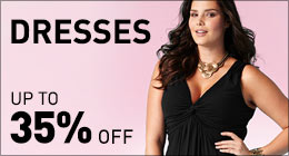 Dresses up to 35% off