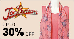 Joe Browns up to 30% off