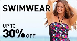 Swimwear up to 30% off