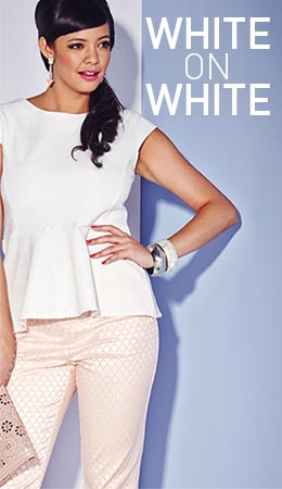 View the White on White Trend >