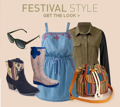 Festival Style - Get the Look >