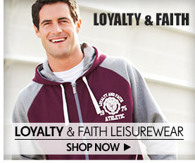 Loyalty & Faith Leisurewear – Shop Now >
