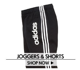 Joggers & Shorts – Shop Now >