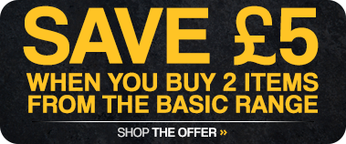 Buy 2 save £5 on Basics