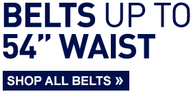 Belts up to 54″ waist