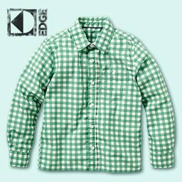 Green Check KD Edge Shirt