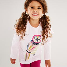 Girls Printed Tees