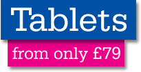 Tablets from only £79