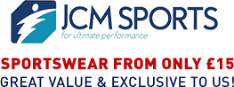 JCM Sports - Sportswear from only £15 - Great value & exclusive to us