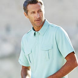 Pastel Green Short Sleeved Polo