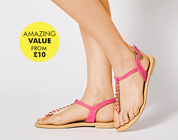Sandals from £10