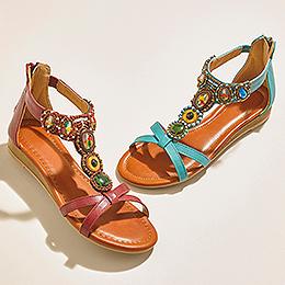 Shop new season sandals