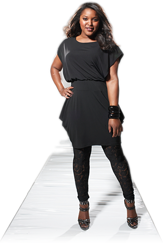Size Black Dress on Plus Size Women S Clothing  Plus Size Ladies Fashion Inc Dresses
