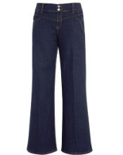 Womens plus size jeans UK | Slim leg wide leg bootcut flares