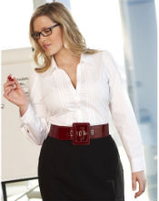 Plus size work blouses for the office | Ladies business trousers ...