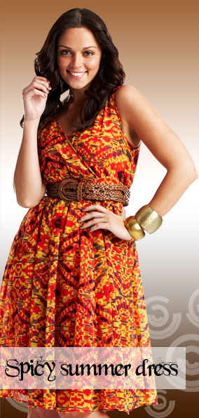 shop spicy summer dress