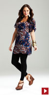 floaty tunic top