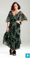 jungle maxi dress