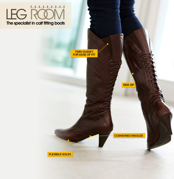 Wide calf boots | Wide fitting calf boots | Calf fitting boots ...