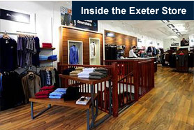 Inside Our Exeter Store