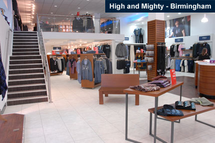 Big mens fashion clothing Clothing stores