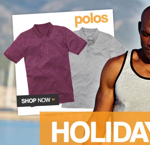 Polos – Shop Now >