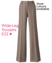 Wide-Leg Trousers £22