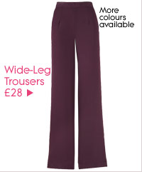 Wide-Leg Trousers £28