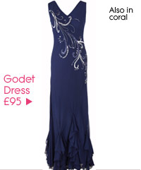 Godet Dress £95