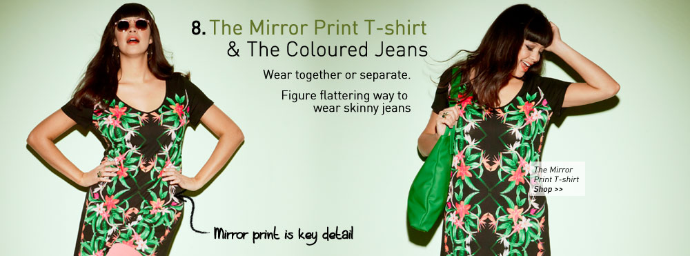 the Mirror Print T-shirt